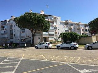 Appartement tout confort a 100 metres de la mer et 200 metres du centre ville