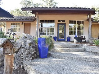 Sequoia Oaks Ranch Guest House ~ In A Forest Of Blue Oaks Close To Park Entrance