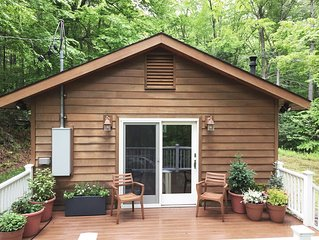 Mountainside Cottage Escape (Catskills)