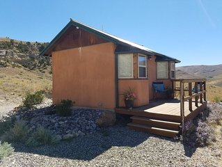 Private cabin located 12 miles out of Cody on Heart Mountain