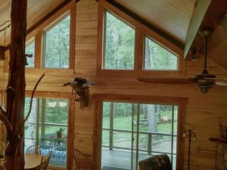 New Luxury Tree Chalet  near Dupont State Forest