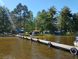 Perfect year-round Northwoods getaway with all the amenities of home and more!