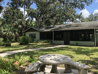 Beautiful, Updated, Historic Waterfront Home on The St Johns River, Deland, Fl.
