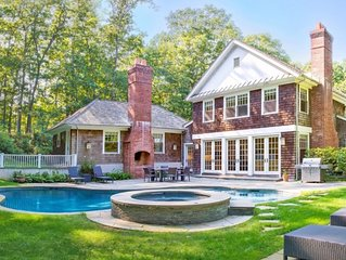 Private 1 Acre Oasis In Amagansett Close To Everything