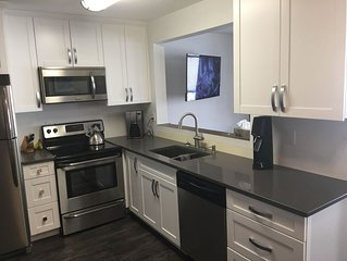 Freshly renovated family condo located in the Village