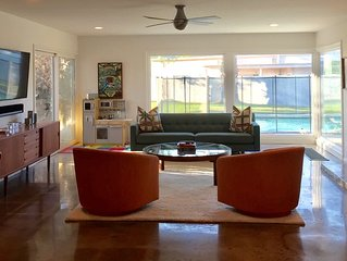 Private Family Friendly Mid Century Home in Bermuda Dunes CC
