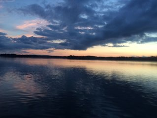 Two bedroom cabin on Big Chetac lake in Birchwood.  Great fishing and sunsets.