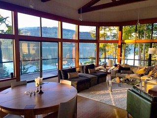 Pender Island Luxury Oceanfront Retreat