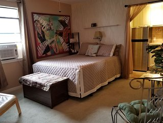 (PRIVATE ENTRANCE AND UNIT) PGS is Dog Friendly & 4 min from Downtown bars, art,