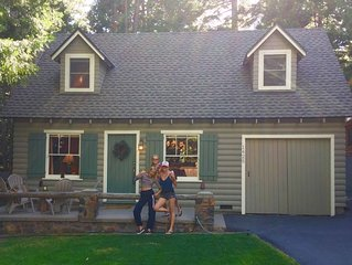 Charming 1930's cottage on the lake side of Highway 89 in Sunnyside, Lake Tahoe