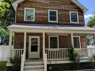 Located in the heart of Greenport. Walk to all.
