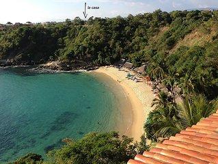 Garden Casita Steps to Carrizalillo Beach