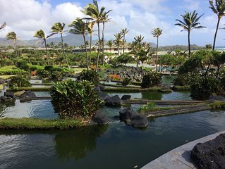 A Dream Vacation at a Beautiful Ocean-Front Resort on Sunny Poipu Point.