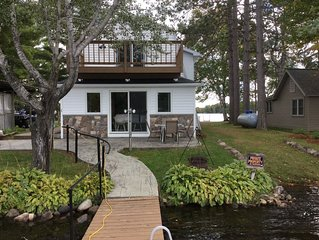 Lakeside vacation rental on Musser lake in north central WI