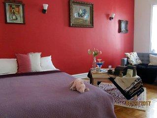 Clean, Comfy, Safe & Quiet Space