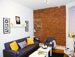 Paradise In Time Square! 2 Bedroom Near Train And Central Park