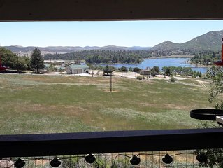 Mountain Cabin with Lake View in Cuyamaca State Park - Julian, CA