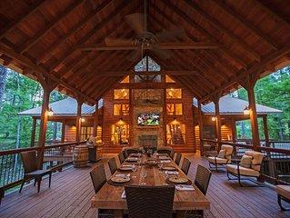 Copper Spa Lodge (Sleeps 14, 3 Masters, 1 Bunk Room, Games, Wet Steam Room)