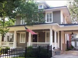 Grand house in Jacksonville's historic Riverside district