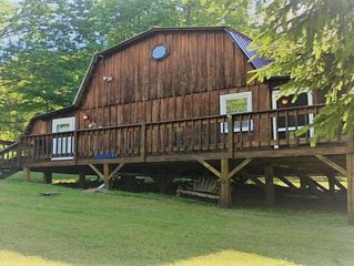 New Listing! - Catskills Cabin- Relaxation with plenty of fun outdoor activities