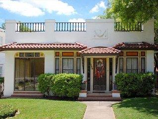 Historic Monte Vista Spanish Cottage 1mi to Downtown