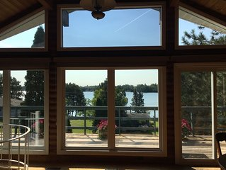 Cottage view of Rheault Bay on LOTW, Kenora