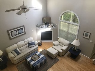 Beautiful Handycap accessible home in Ocean Pines with Beach Parking permit.