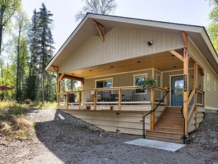 Forrest Glenn Chalet Talkeetna, Family Friendly 2 bedroom 1 bath sleeps 8