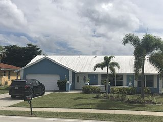 Water front home in very desirable Punta Gorda Isles.