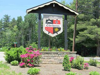 N Conway-Eidelweiss.  White Mountains Getaway in a private relaxed community.