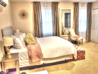 Boutique room at the Magnolia Lodge in Chautauqua