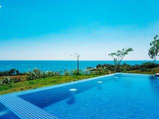 Vista del Mar, beautiful 180 degree ocean view property
