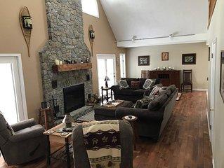Beautiful Adirondack Mountain Home in Brant Lake