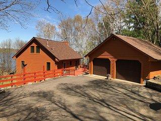 Farm Island Cabin Getaway near Aitkin MN (8 beds)