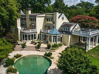 Former Celebrity Lakeside Mansion