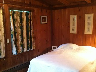19th Century Pioneer Cabin on Forested Puget Sound Beachfront Lot
