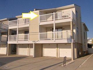 Close to beach, boards, and Restaurants- 2ND Floor condo - 2 BR/2 bath