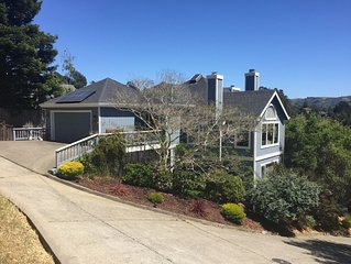 BEAUTIFUL MILL VALLEY HOME WITH MAJESTIC VIEWS FOR RENT