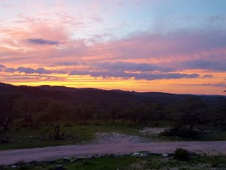 Western Sky in the beautiful Hill Country located in Blanco County. Blanco CO