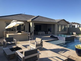 Desert retreat in Estrella Mountain Ranch with private pool in gated community