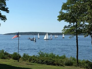 A magical waterfront location, an extraordinary spot on Narragansett Bay