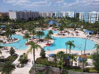 The Fountains in Orlando Florida - 2 Bedroom Condo w/ Free Wifi