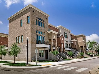 Steps out the front door to the Bentonville Square & all it has to offer!