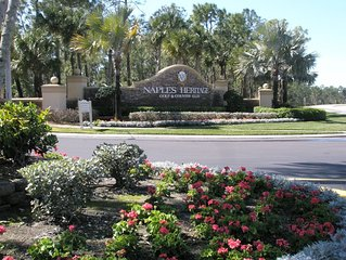 Veranda Style Condo At Naples Heritage Golf & Country Club (Golf, Tennis, Pool)