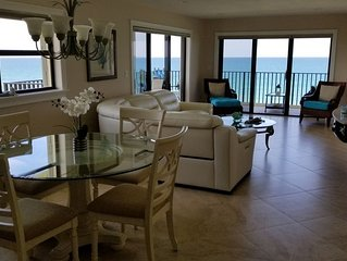 Nice apartment Ocean front, fifth floor balcony in the north east corner.