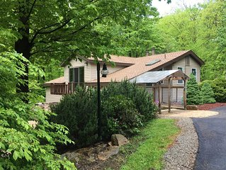 Seven Springs, Hidden Valley, Laurel Highlands cabin - relaxation and family fun