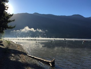 Cultus Lake brand new 2 Bedroom basement suite steps from the lake.