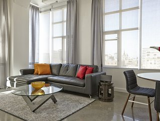 Newly Renovated, Spacious Two Bedroom Loft with 12 Foot Ceilings - Must See!