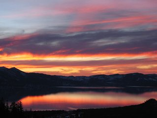 Heavenly Tahoe - Panoramic Lake Views! - Skiing, Trails, Nightlife, Getaway