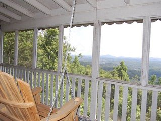 West Jefferson Mountain Side Home with A View